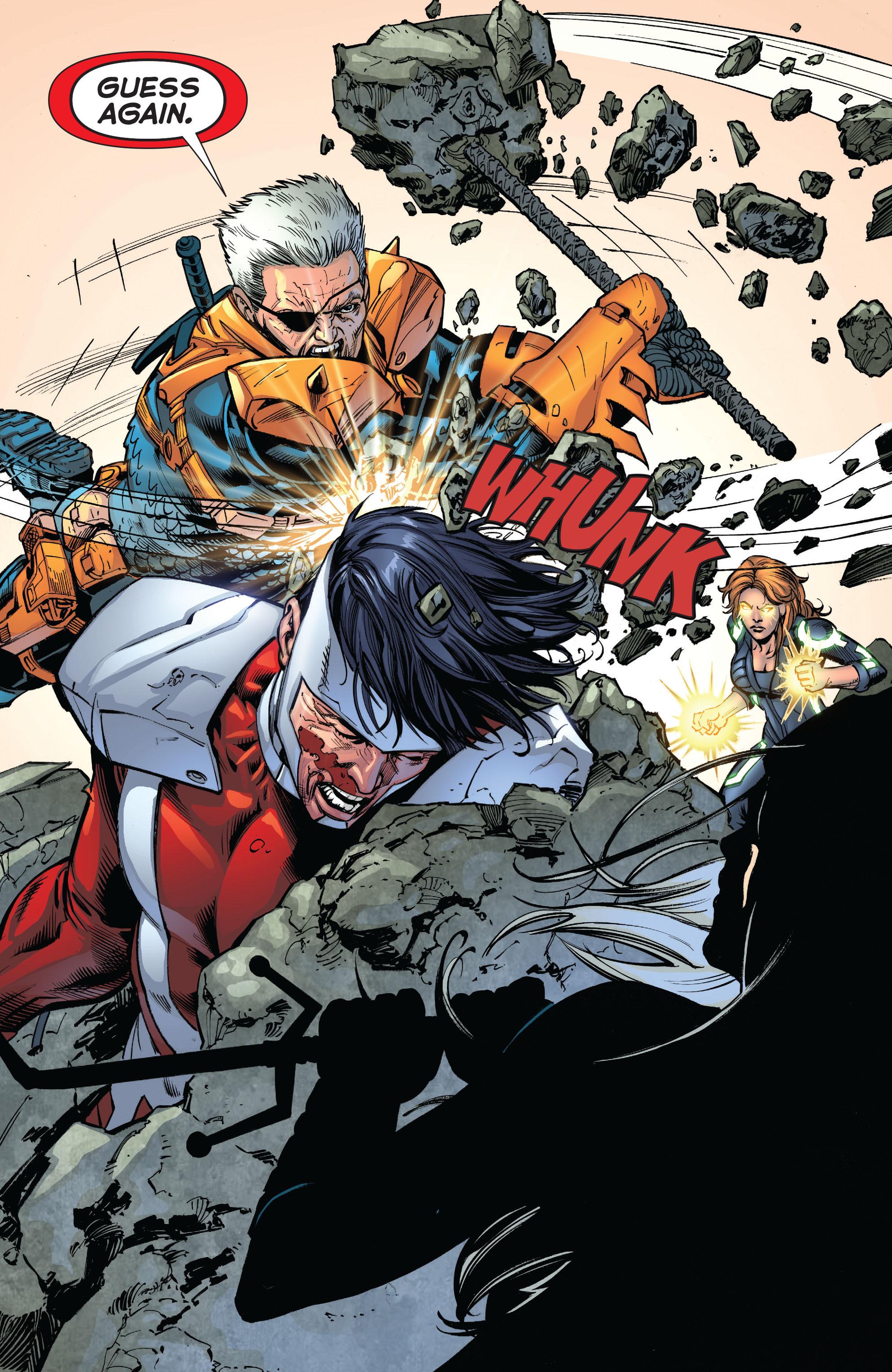 Deathstroke (2011) Issue #20 #21 - English 16