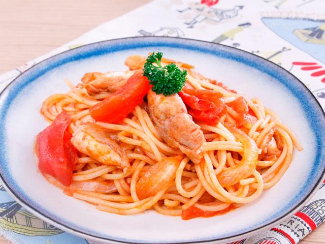 Món ngon: Mì Ý xào thịt gà
