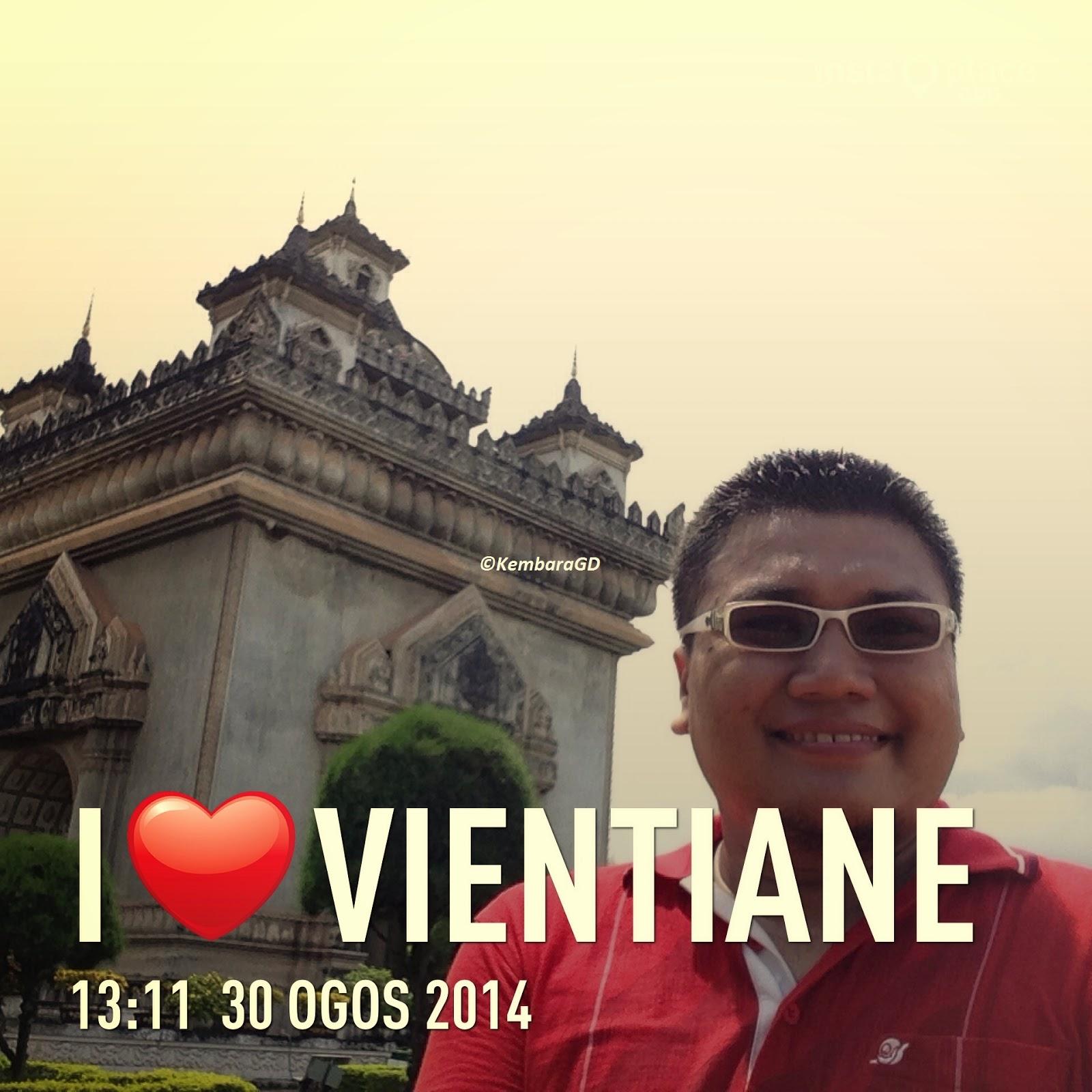 Thalat Laos  city photos : ... 01 September 2014 Vientiane, Laos Kembara Berkumpulan Itinerari