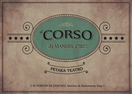 El Corso de Manuel Cruz