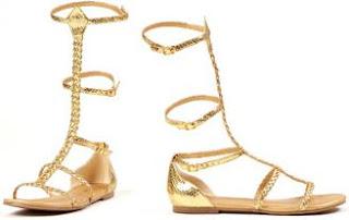Cleopatra Costume Sandals