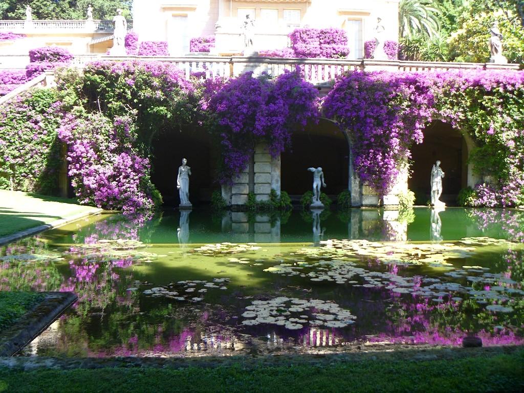 Hablemos de jardines los jardines bertran cumplen 50 a os - Casa con jardin barcelona ...