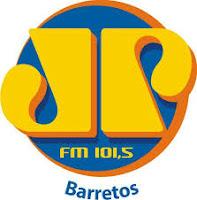 ouvir a Rádio Jovem Pan FM 101,5 Barretos SP