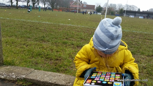 Tech-Too alphabet tablet at rugby