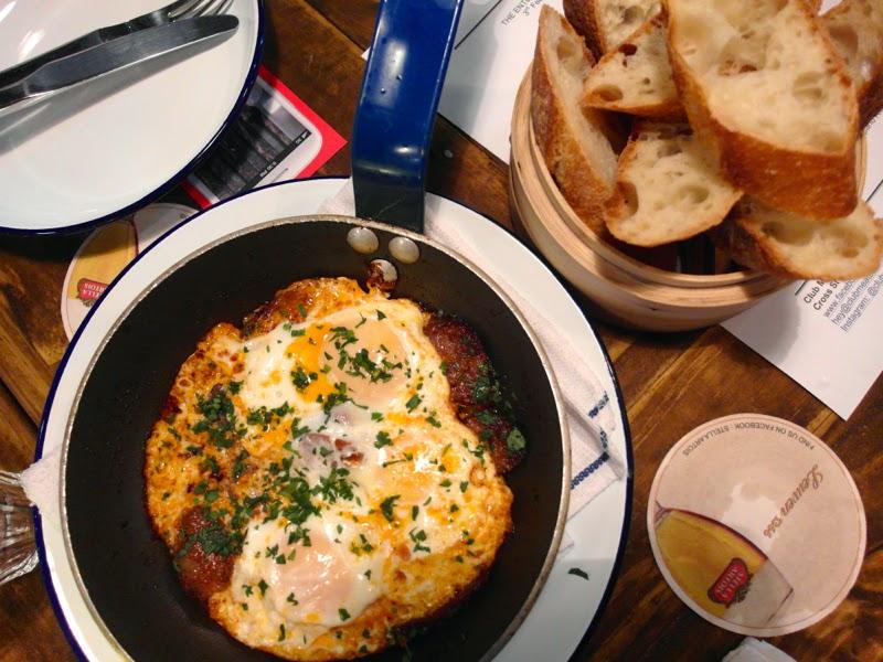 Club Meatballs Restaurant Review Huevos con Chorizo Lunarrive Blog