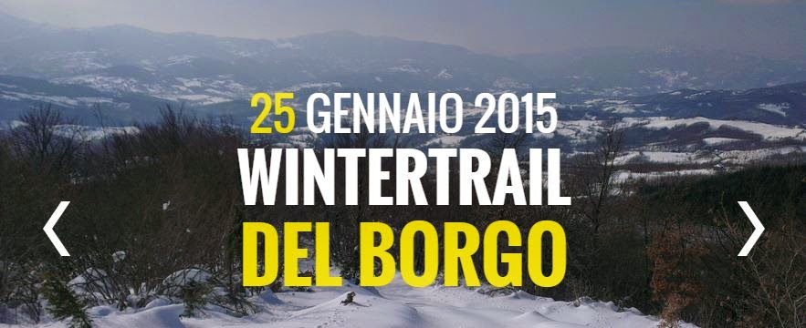 5° Winter Trail del Borgo 2015