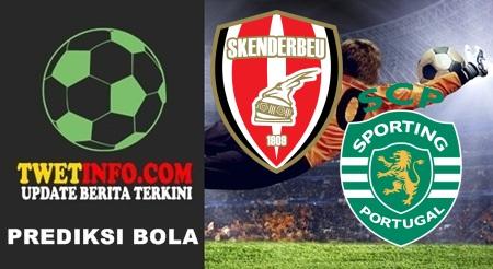 Prediksi Skenderbeu vs Sporting Lisbon