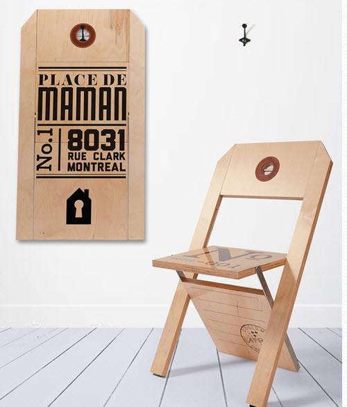 Dise o de muebles creativos modelos para dise o de for Sillas de diseno moderno