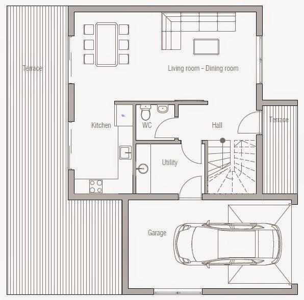 Planos de casa moderna 2 plantas planos de casas gratis - Planos de casas de 2 plantas ...