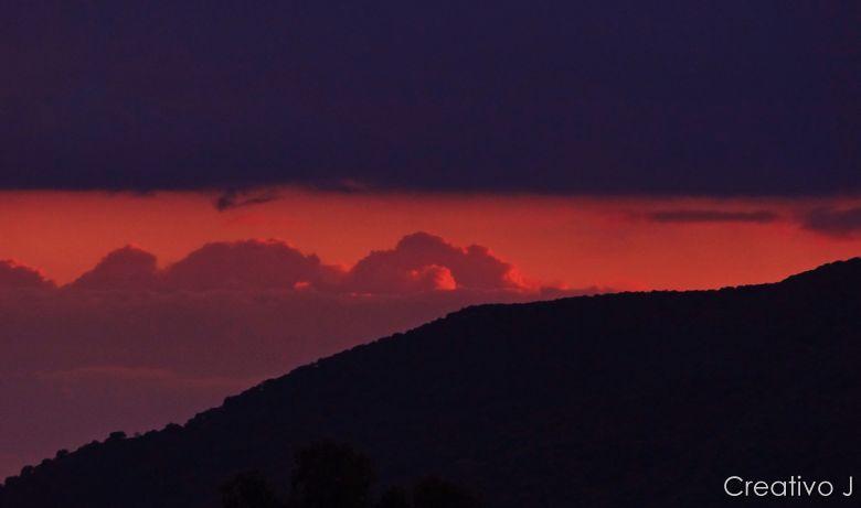 Parque asomadillas cordoba españa nubes atardecer crepusculo