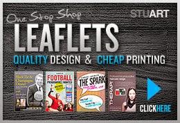 Leaflet design & print: