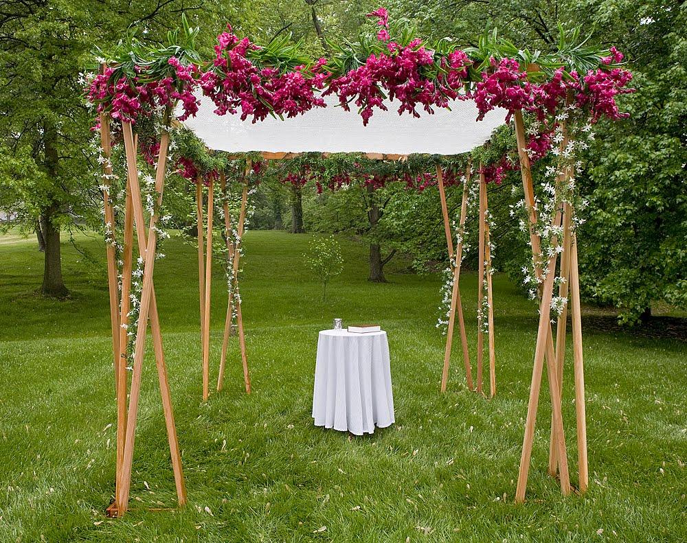 Do It Yourself: Wedding Canopy | eHow.com