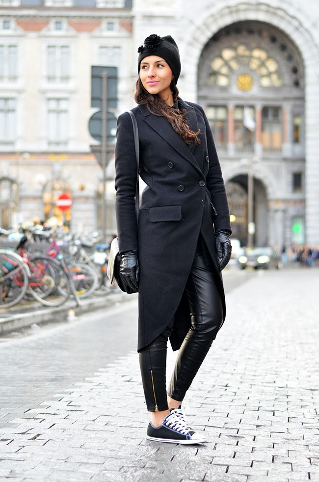 all black converse outfit - photo #13