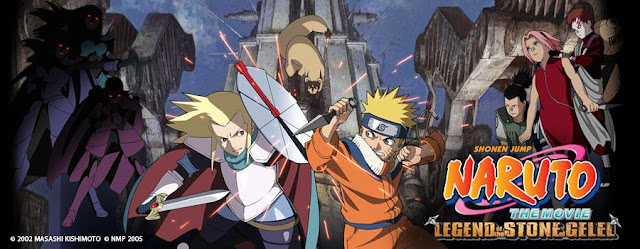 Naruto Movie 2 Stone of Gelel