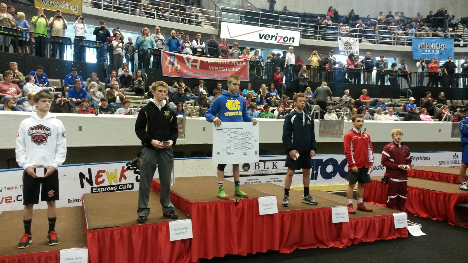 Catholic's Van Alst Claims Fourth Consecutive Wrestling State Championship 1
