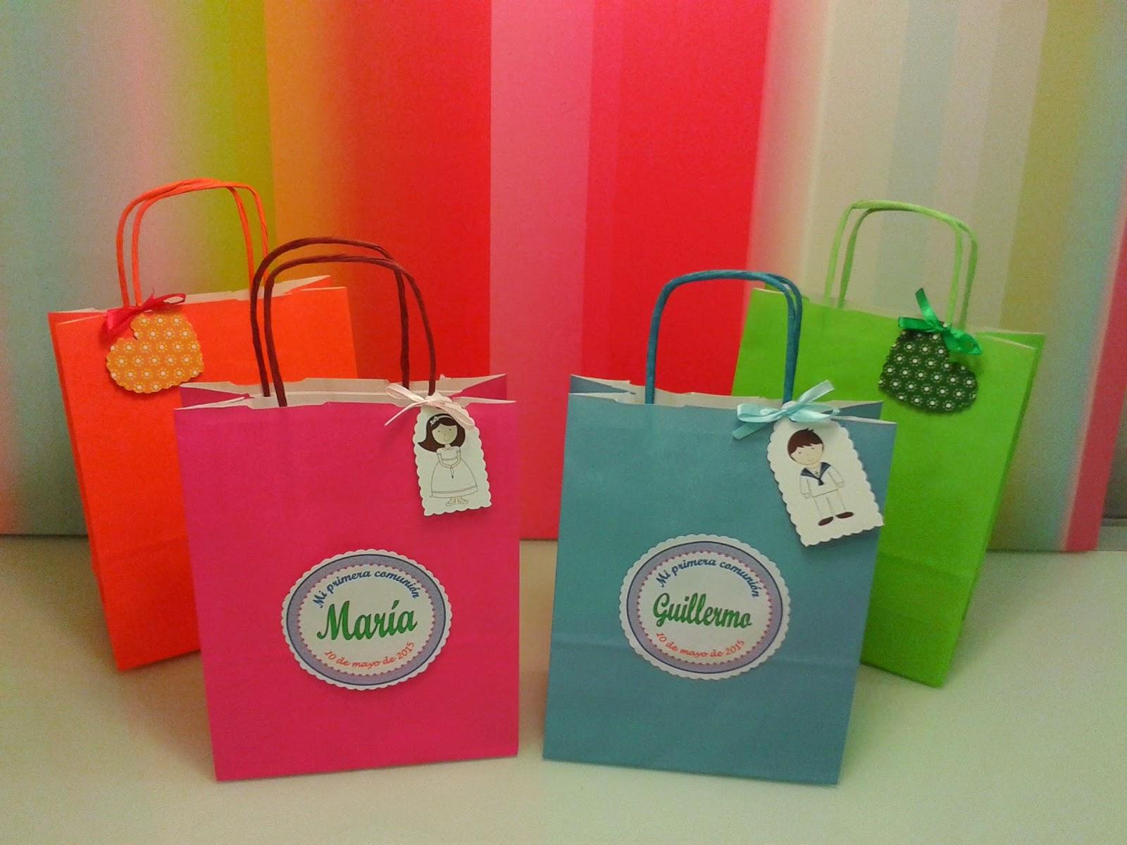 Chuchedetalles pamplona bolsas de papel personalizadas - Bolsas de regalo personalizadas ...