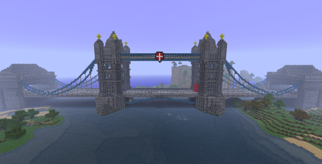 japanese temple london bridge - Minecraft Japanese Bridge