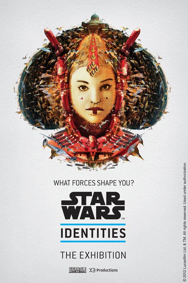 Star Wars Identities by Louis Hébert - Padmé Amidala