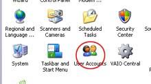 cara mengganti gambar identitas username di komputer window xp