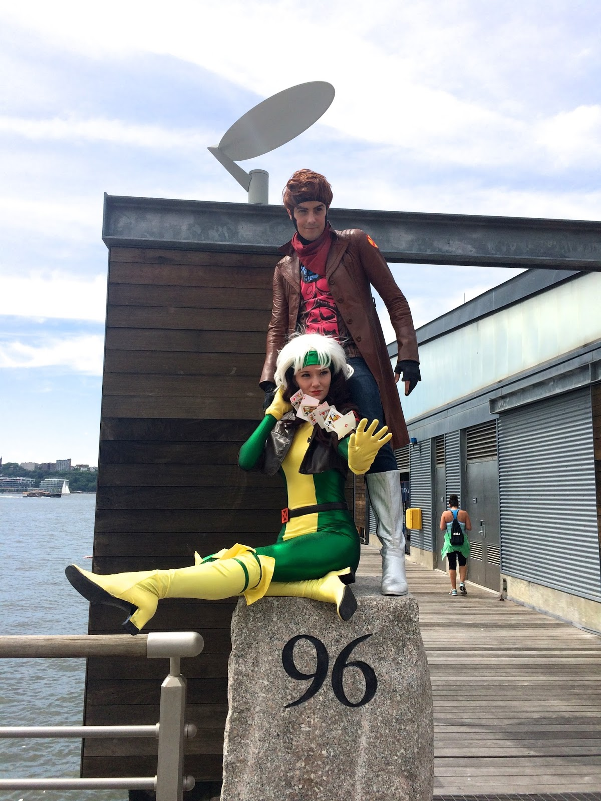 Special Edition NYC X-Men cosplay Rogue Gambit