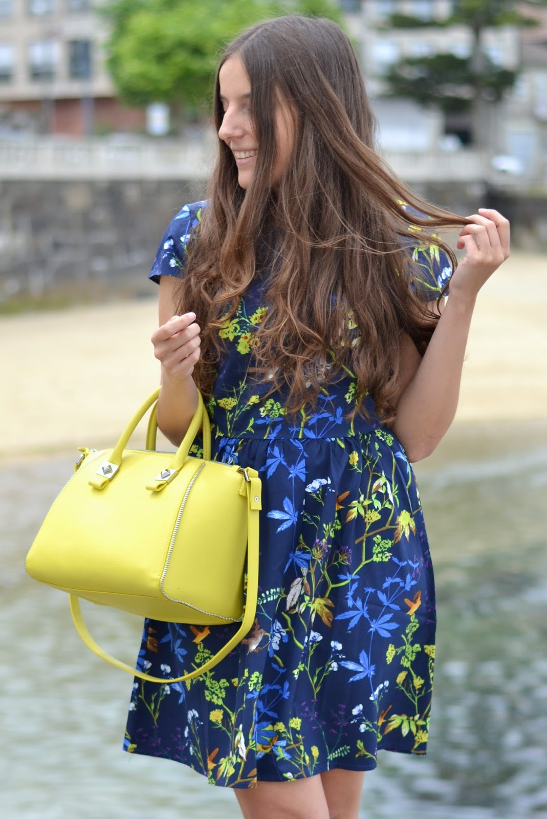 looks bolso amarillo