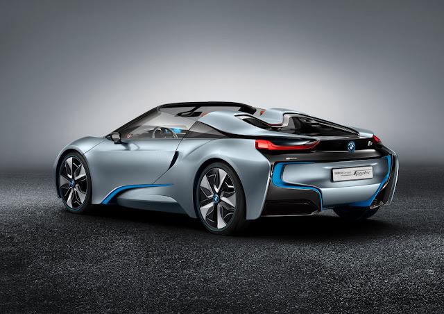 BMW i8 Concept Spyder back