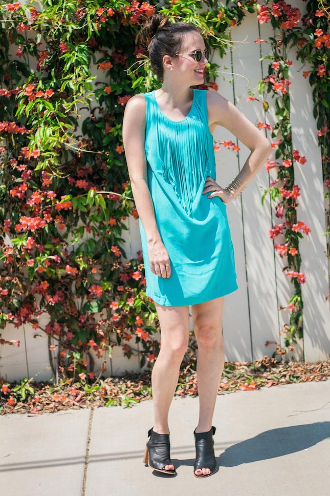 Sugar Lips Henrie Fringe Detail Dress via @Stitchfix