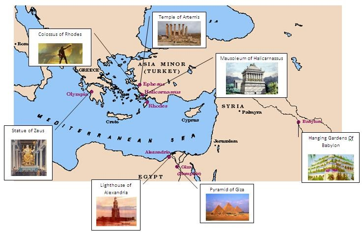 a survey of the seven wonders of the world The seven wonders of the ancient world was nothing more than an ancient   the survey immediately raised the question of whether a global.