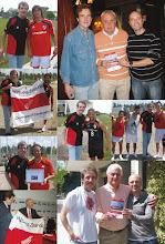 2011: CON ALONSO, AMADEO, MARTÍN Y LOS JUGADORES EN EL PREDIO DE BENAVÍDEZ