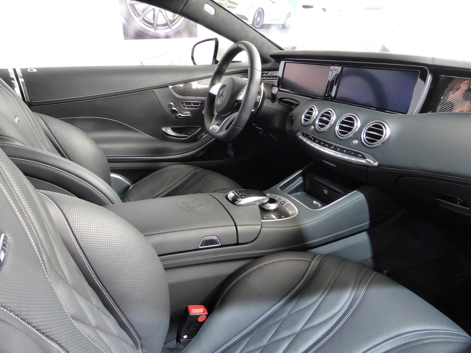 The S Coupe's interior is a masterpiece of luxury and simplicity