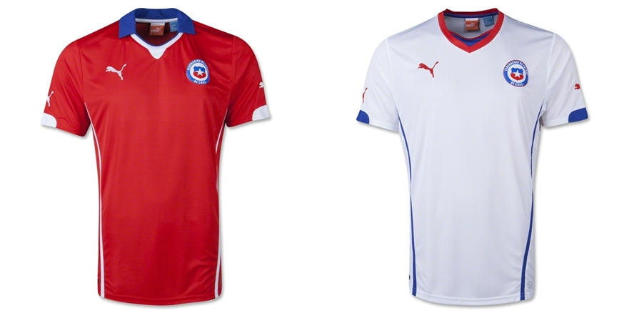 Chili - Jersey Grade Ori Piala Dunia 2014