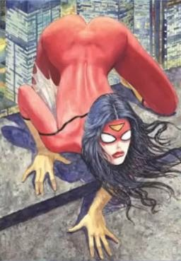SpiderWoman's Nice Ass!