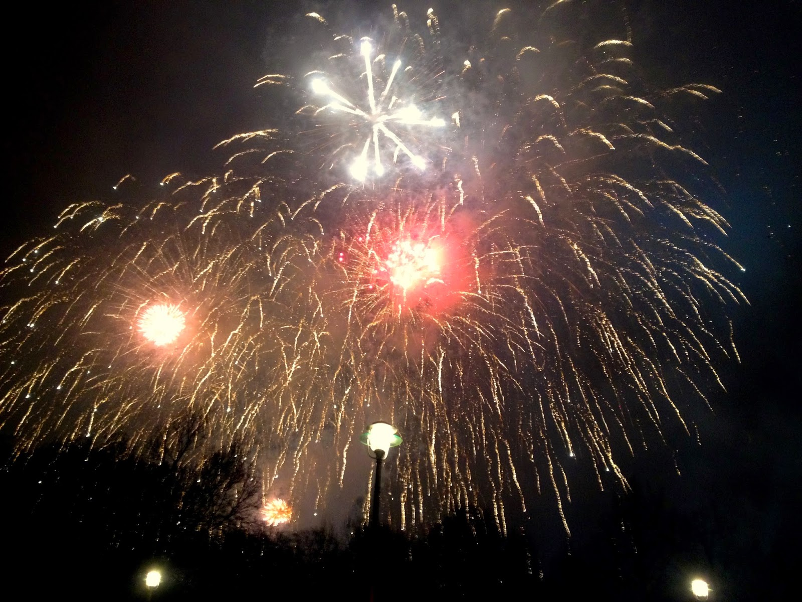 2015 New Year's Eve (Silvester) Fireworks in Berlin