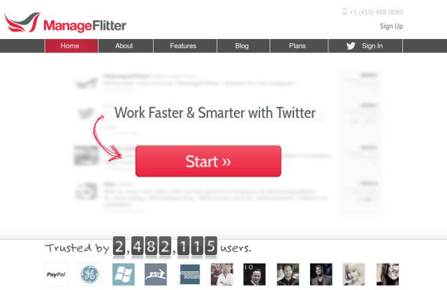 Manage Flitter - busca no twitter para empreendedores e marqueteiros