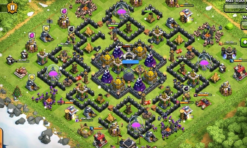 Best TH9 Base Against Hogs Clash Of Clans