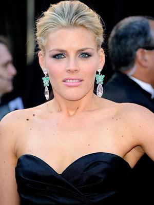 Jennifer Lawrence Dangling Gemstone Earrings