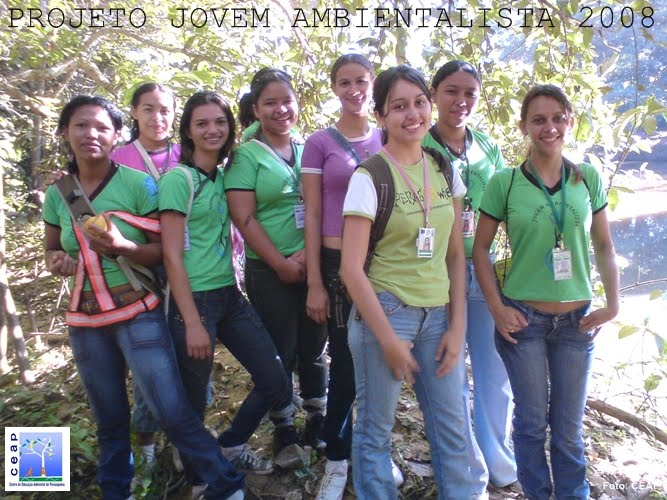 Projeto Jovem Ambientalista turma de 2008 - 3ª turma