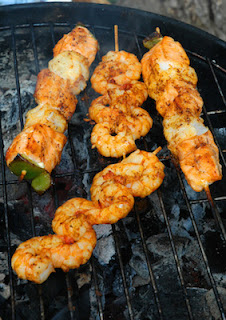 Ideas for Barbecued King Prawns