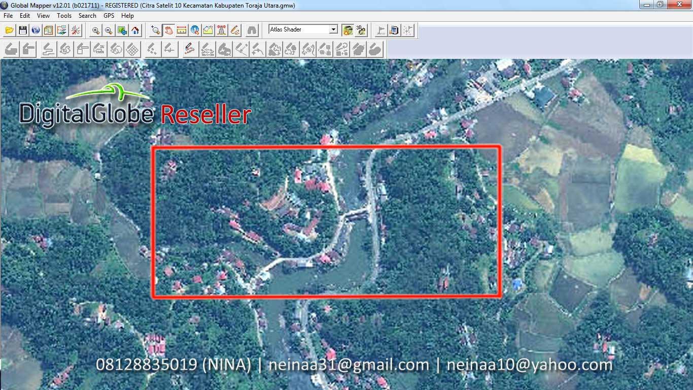 Contoh Foto Citra Satelit Contoh Data Citra Satelit
