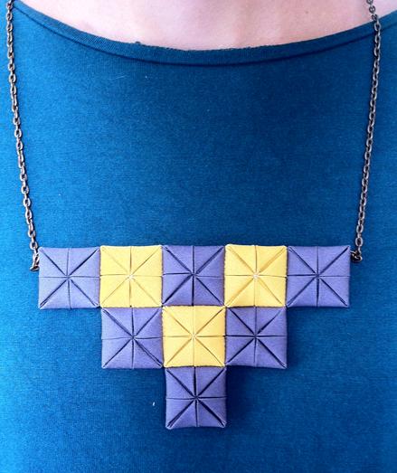 Collares de patchwork Trapo y Tela
