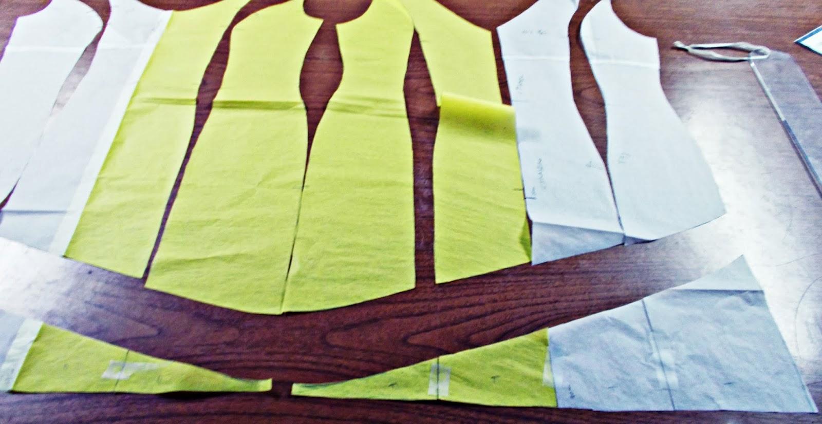 Traje-vestido-flamenca-patrón-paso a paso-costura-volantes-enagua-15
