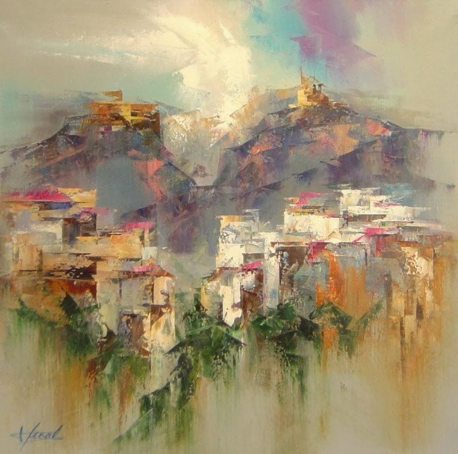 Pejzaži u slikarstvu... - Page 2 Landscape+Paintings+by+Josep+Teixido+%287%29