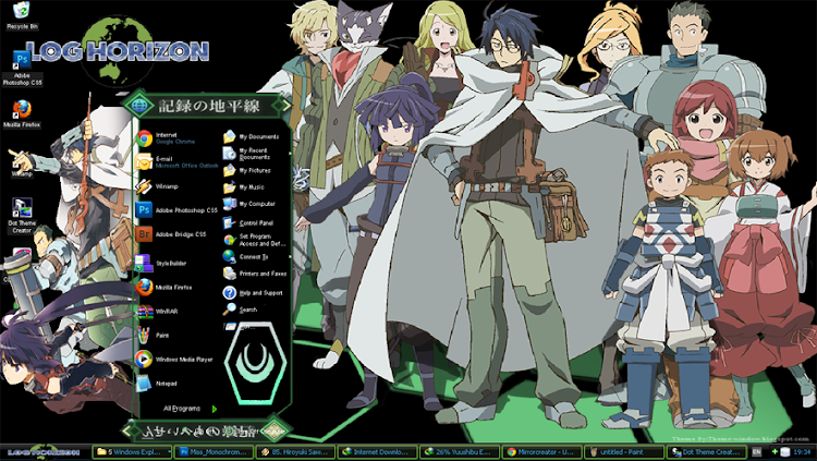 [Theme Win Xp] Log Horizon 1