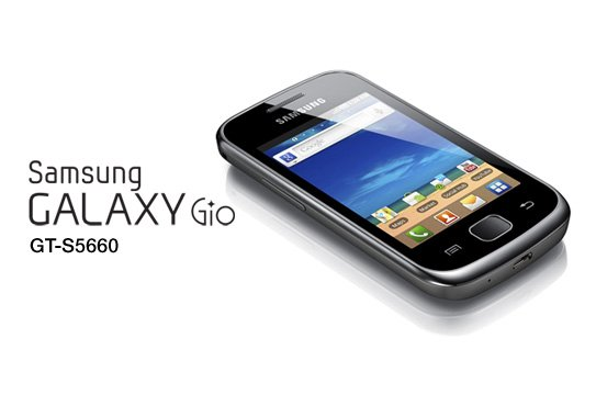 Samsung Galaxy Gio Обновление Android 2.3.8