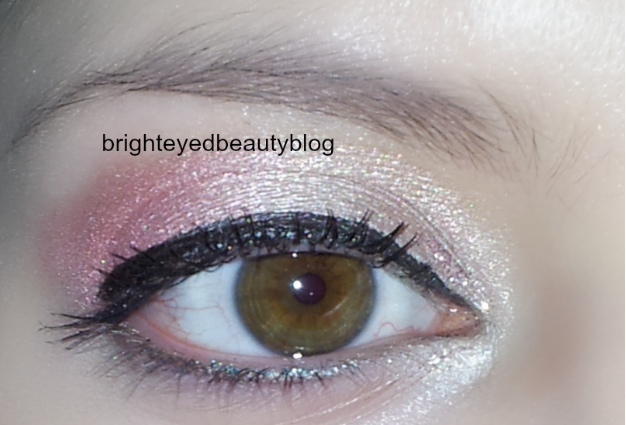 Pretty in Pink eye look series, look 1
