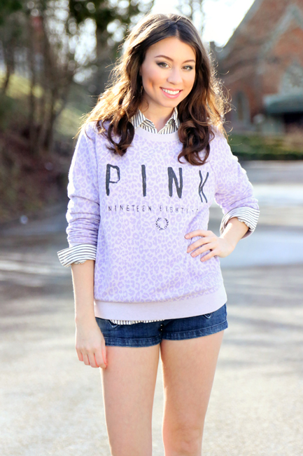 Victoria's Secret VS PINK Crew Sweatshirt, alaLadywolf, Whitney S. Williams