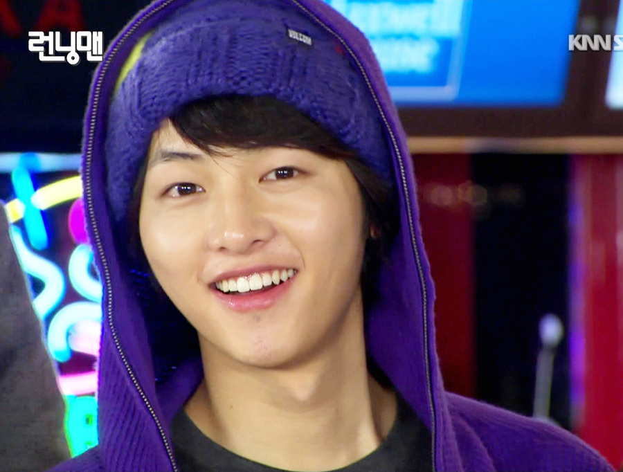 "Song Joong Ki, he is an old member of ""Running Man""."