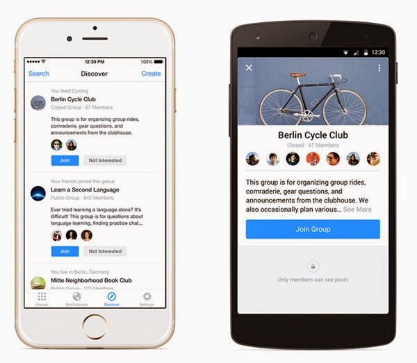 Facebook Groups app for Android and iPhone released