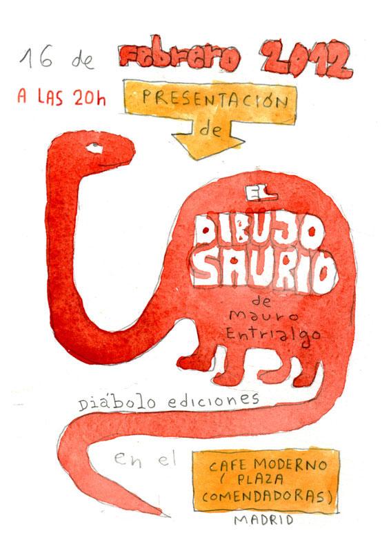 El dibujosaurio - Mauro Entrialgo