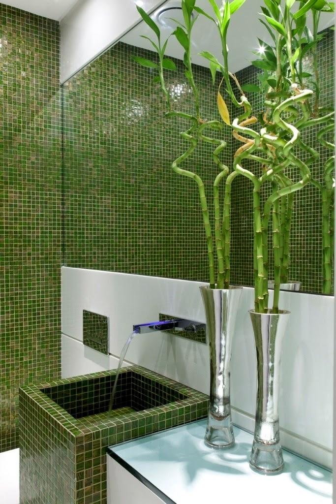 Cubas de piso – veja 20 banheiros e lavabos com essa tendência + dicas!  Dec -> Cuba Banheiro Tendencia